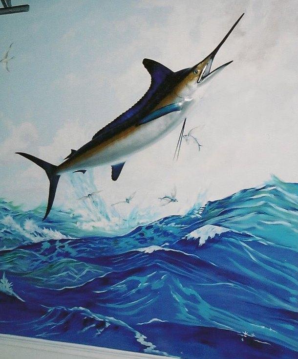 Prized Sword Fish