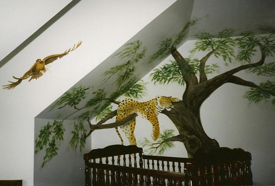 The Jungle Mural