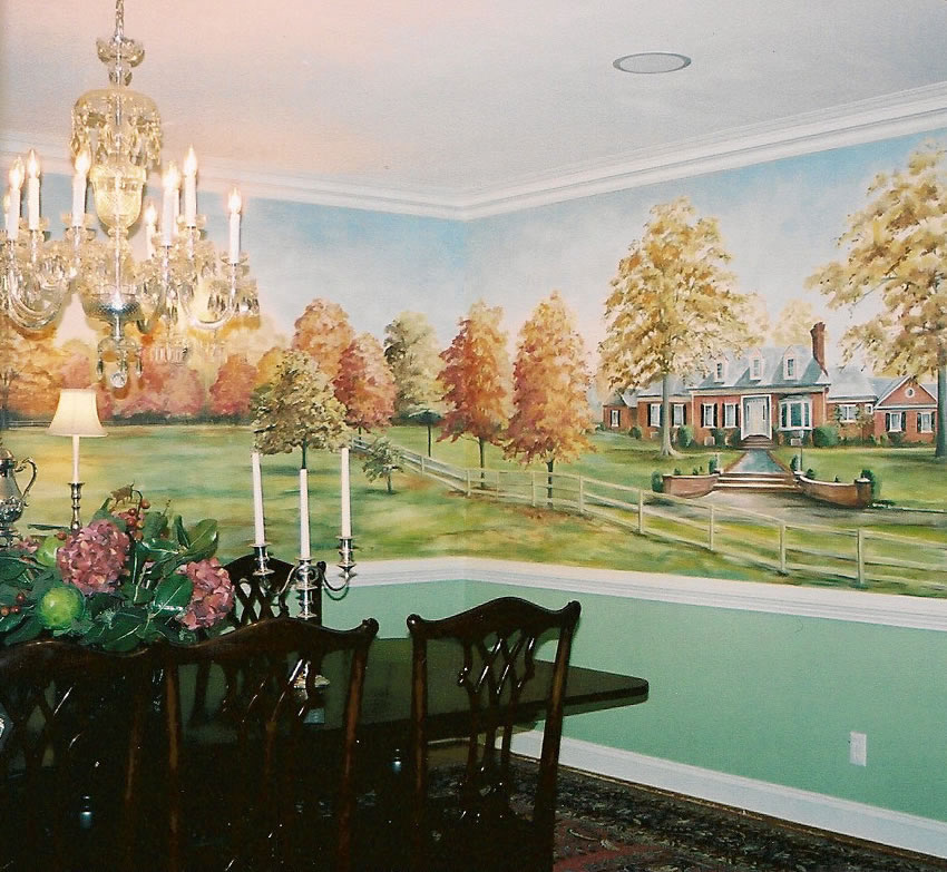 Dining Room Mural 2
