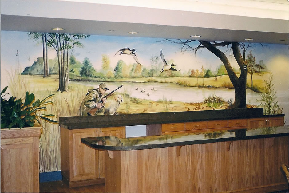 A Hunting Mural