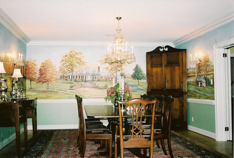 Dining Room Mural 1